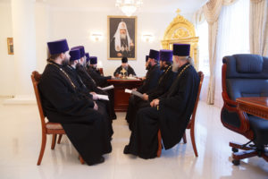 14.11.2017 г. Епископ Волгодонский и Сальский Корнилий возглавил совещание