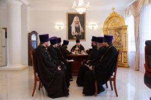 24.11.2017 г. Епископ Волгодонский и Сальский Корнилий возглавил совещание с духовенством в епархиальном управлении Волгодонской епархии.