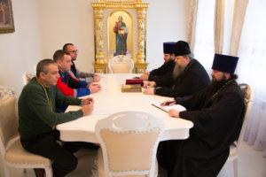 24 ноября 2017 г. епископ Волгодонский и Сальский Корнилий провел встречу с благотворителями и руководителем подрядной организации
