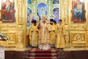31.12.2017г. Божественная литургия г. Волгодонск.