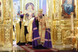 31.12.2017г. епископ Корнилий возглавил молебеное пение на Новый Год
