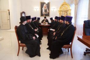 20.12.2017 г. Епископ Волгодонский и Сальский Корнилий возглавил совещание