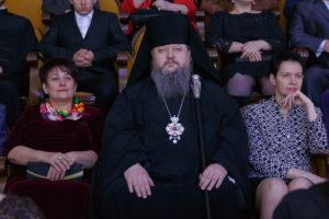 12.01.2018 года, епископ Волгодонский и Сальский Корнилий посетил праздничную Рождественскую ёлку в ДК им. Курчатова.