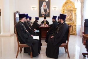 26.02.2018г. Епископ Волгодонский и Сальский Корнилий возглавил совещание с духовенством Волгодонской епархии.