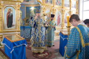 15.02.2018г. Божественная литургия с. Дубовское.