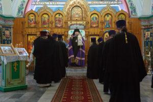 18.02.2018г. Божественная литургия с. Большая Мартыновка