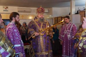 9 марта 2018 года. Божественная литургия Преждеосвященных даров г.Цимлянск