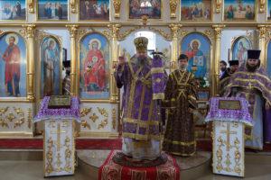 15 марта 2018 года. Божественная литургия Преждеосвященных даров г. Белая Калитва.