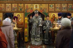22 марта 2018 года. Божественная литургия Преждеосвященных даров г. Волгодонск