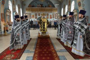 30 марта 2018 года. Божественная литургия Преждеосвященных даров пос.Орловский