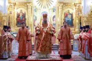 15.04.2018г. Божественная литургия г. Волгодонск