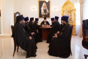 3.05.2018г. Епископ Волгодонский и Сальский Корнилий возглавил совещание с духовенством Волгодонской епархии.