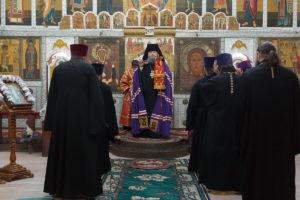 6.05.2018г. Божественная литургия пос.Сандата Сальского района.