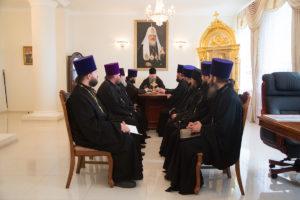 10.05.2018 г. епископ Волгодонский и Сальский Корнилий провел совещание с духовенством Волгодонской епархии.