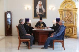 11.05.2018 г. епископ Волгодонский и Сальский Корнилий провел совещание по росписи часовни