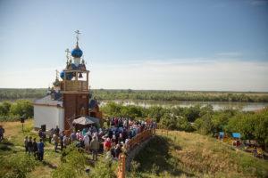 28.05.2017г. Божественная литургия хут. Старозолотовский.