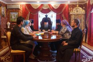 7.06.2018 г. Епископ Волгодонский и Сальский Корнилий возглавил совещание на епархиальном подворье.