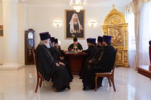 08.06.2018 г. епископ Волгодонский и Сальский Корнилий провел совещание с духовенством Волгодонской епархии.