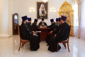 13.06.2018 г. епископ Волгодонский и Сальский Корнилий провел совещание с духовенством Волгодонской епархии.