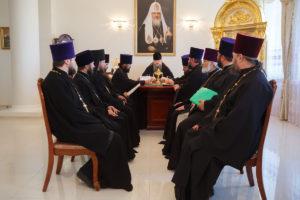 19.06.2018 г. епископ Волгодонский и Сальский Корнилий провел совещание с духовенством Волгодонской епархии.