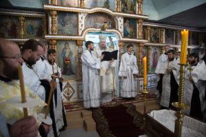 23.06.2018 года епископ Волгодонский и Сальский Корнилий возглавил чин отпевания новопреставленного клирика г. Морозовск