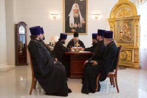 26.06.2018 г. епископ Волгодонский и Сальский Корнилий провел совещание с духовенством Волгодонской епархии.