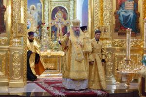 28.7.2018г. епископ Волгодонский и Сальский Корнилий возглавил богослужение  г. Волгодонск