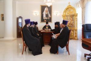 31.07.2018 г. епископ Волгодонский и Сальский Корнилий провел совещание с духовенством Волгодонской епархии.