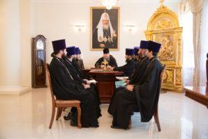 3.07.2018г. епископ Волгодонский и Сальский Корнилий провел совещание с духовенством Волгодонской епархии.