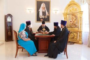 26.07.2018г. епископ Волгодонский и Сальский Корнилий провел совещание в епархиальном управлении Волгодонской епархии.