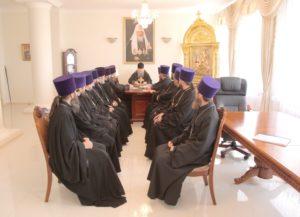 12.09.2018. Совещание с духовенством Волгодонской епархии