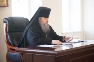18.09.2018 года епископ Корнилий провел расширенное совещание Волгодонской епархии.