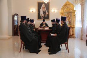 28.09.2018 года епископ Корнилий провел совещание с духовенством Волгодонской епархии.
