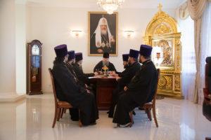 10.10.2018 года епископ Корнилий провел совещание с духовенством Волгодонской епархии.