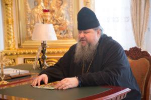 26 октября 2018 года епископ Корнилий встретился с православным богословом и общественным деятелем Александром Леонидовичем Дворкиным.