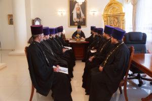 30.10.2018 года епископ Корнилий провел совещание с духовенством Волгодонской епархии