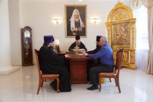 31 октября 2018 года епископ Корнилий провел совещание