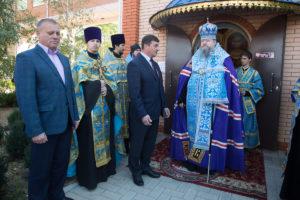 1.10.2018 г. епископ Корнилий совершил молебен г.Зимовники.