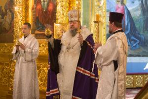 2.11.2018 г. Вечернее богослужение (парастас) г. Волгодонска.