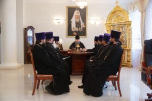 9 ноября 2018 года епископ Корнилий провел совещание с духовенством Волгодонской епархии.