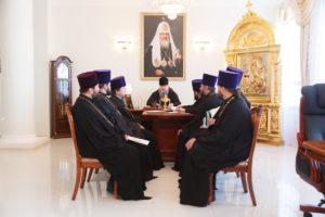 15.11.2018 года епископ Корнилий провел совещание с духовенством Волгодонской епархии.