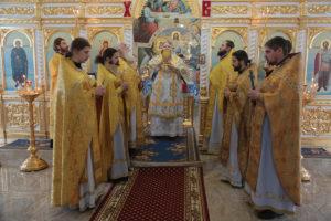 18.11.2018г. Божественная литургия ст. Кутейниковская