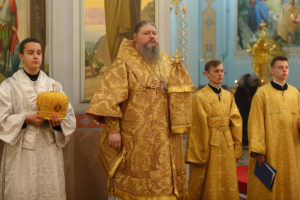 18.11.2018г. Вечерняя с акафистом г.Волгодонск