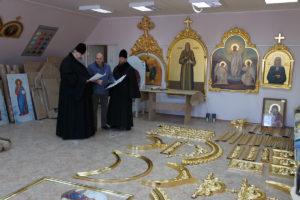30.11.2018 года епископ Корнилий посетил ООО «Благовест».