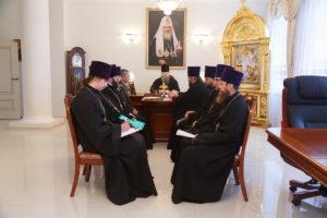 5.12.2018 года в здании Епархиального управления епископ Корнилий провел совещание.