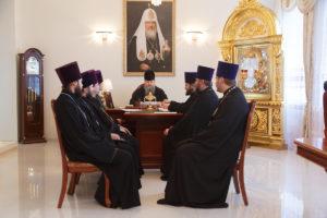 11.12.2018 г. епископ Корнилий провел совещание с духовенством Волгодонской епархии