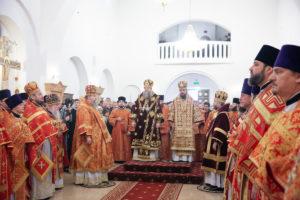 7.12.2018 года епископ Корнилий принял участие в торжествах по случаю прославления священномученика Константина Верецкого.