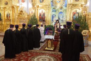 7.01.2019 г. епископ Корнилий совершил Великую вечерню