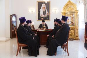 10.01.2019 г. епископ Корнилий провел совещание с духовенством Волгодонской епархии