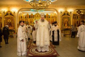 12.01.2019 г. епископ Корнилий совершил Всенощное бдение г.Волгодонск
